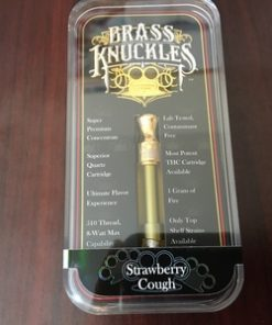 Buy Strawberry Cough Brass Knuckles Cartridge, Strawberry Cough Brass Knuckles Cartridge Online, Strawberry Brass Knuckles for sale, Cheap Brass Knuckle